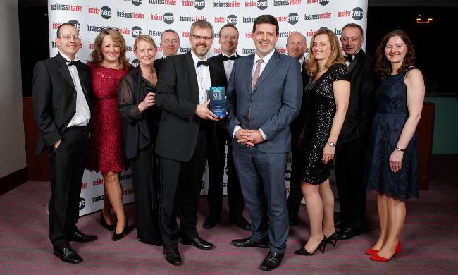 Morton Fraser awarded Business Insider's Scottish SME of the Year 2018