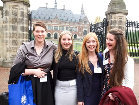Dundee mooting team shines at international competition