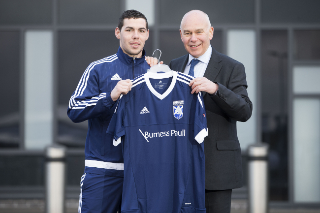 Burness Paull supports Team Scotland in Homeless World Cup