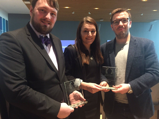 Aberdeen law trio scoop awards at The Hague