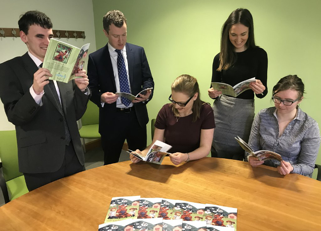 Thorntons trainees produce book in aid of Children 1st