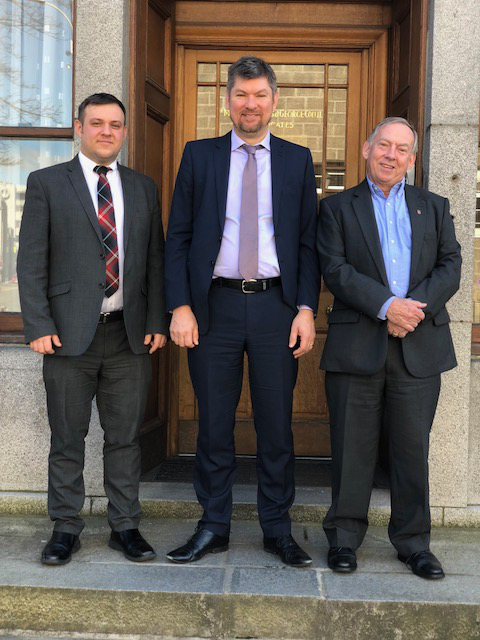 Partnership changes at Aberdeen firm James & George Collie