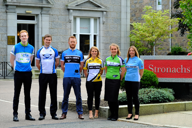 Stronachs LLP to take on sixth Ride the North challenge with biggest team yet