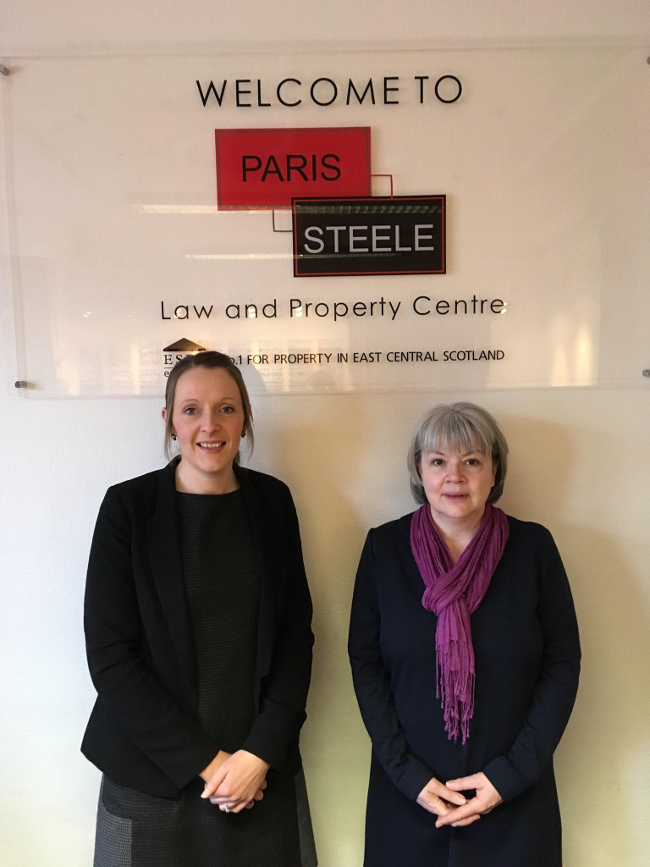Partner promotion at Paris Steele WS
