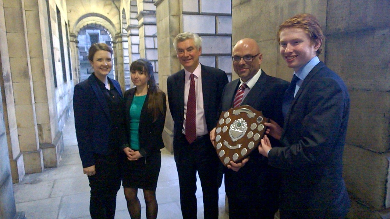 GCU Law Society take moot final to the Court of Session