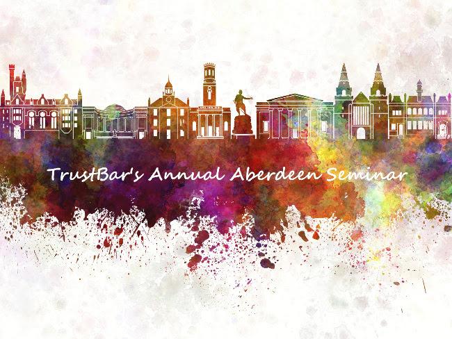 TrustBar announces Annual Seminar in Aberdeen