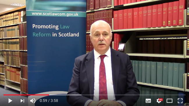 Lord Pentland discusses defamation proposals