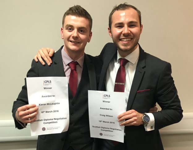 Aberdeen University retains national competition title
