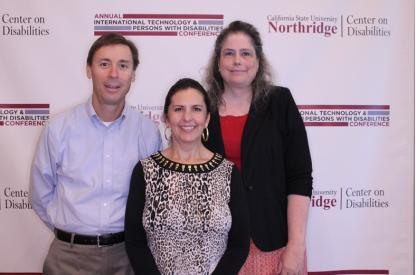 Clayton, Laura and Mellowdee at CSUN