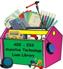 ADE-ESS AT Loan Library Logo