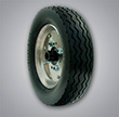 Closed Cell Foam Tire