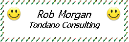 Rob Morgan of Tondano Consulting