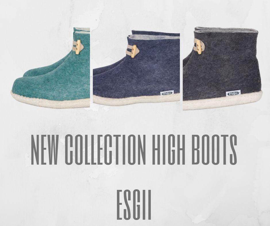 High Boots serie sloffen