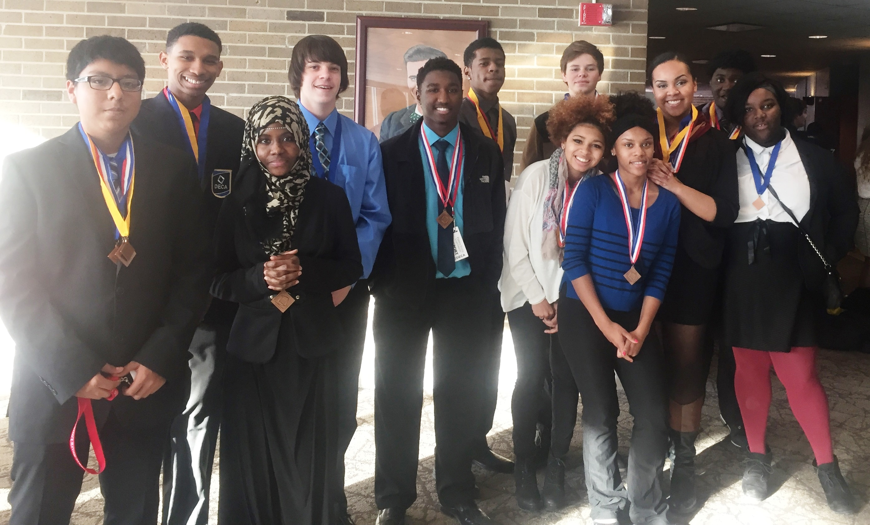 ABLE Students Go Big in DECA Competition