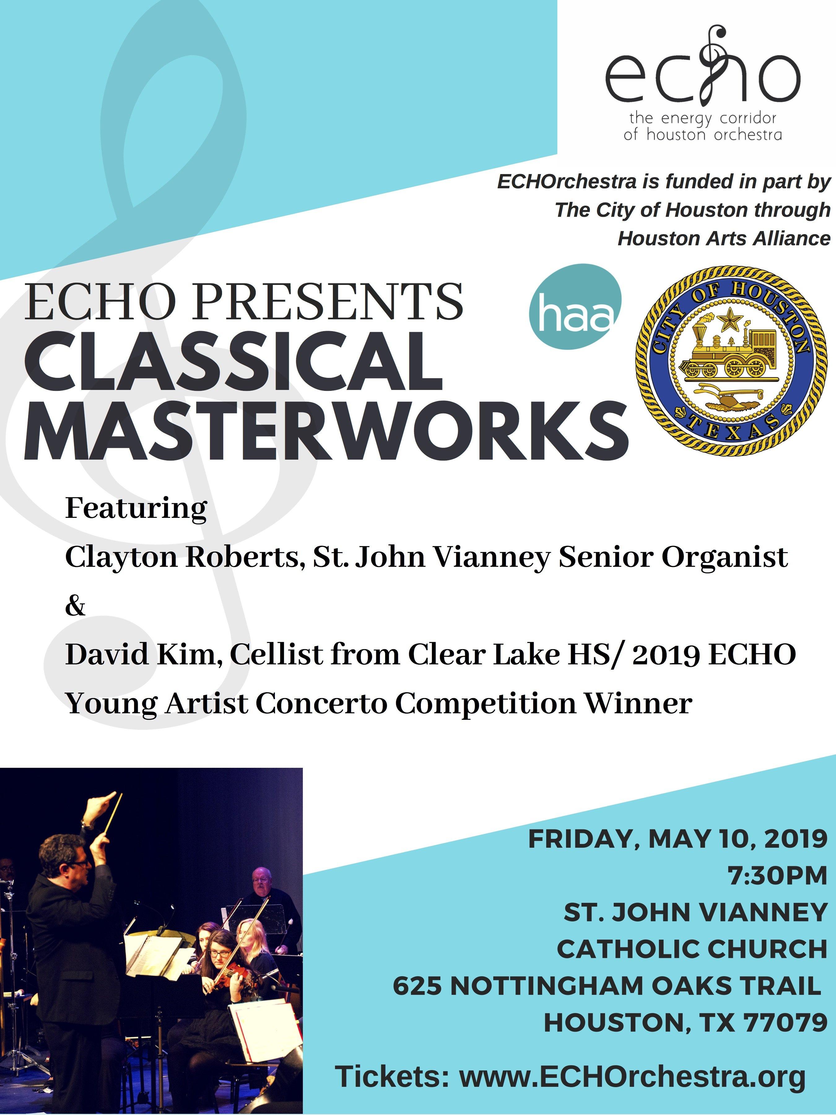 ECHO PRESENTS CLASSICAL MASTERWORKS