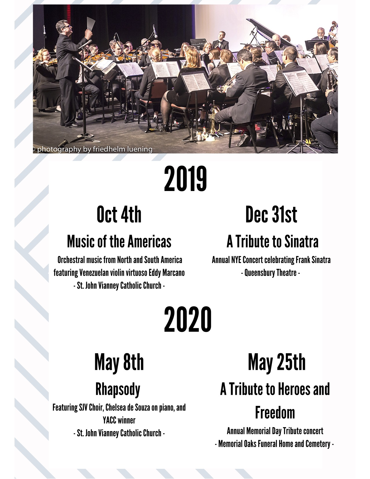 ECHO 6th Season 2019-2020 Picture of an orchestra playing music