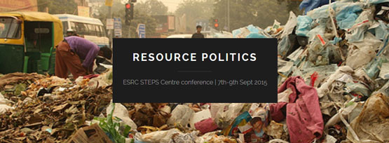 Resource Politics banner