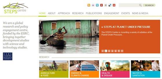 STEPS homepage