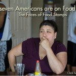 Faces of food stamps