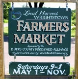 Wrightstown Farmers' Market Facebook page