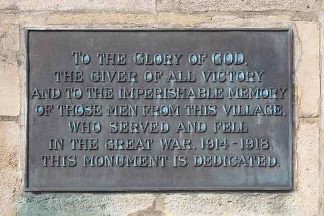 War Memorial November 2015