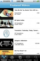 dotSUB iPhone / iPad / iTouch app - FREE on iTunes