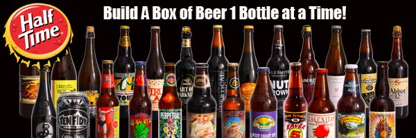 Half Time - Build a Box of Beer One Bottle at a Time!