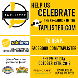 Taplist + RateBeer Event at the Great American Beer Festival