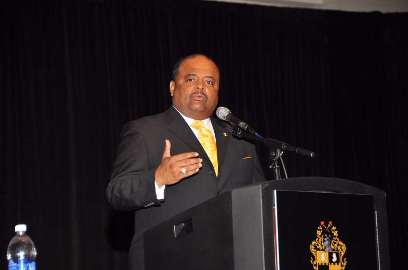 Brother Roland Martin facilitating a panel on School Choice in African-American Communities