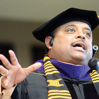 Roland Martin Pi Omicron Commencement Speech