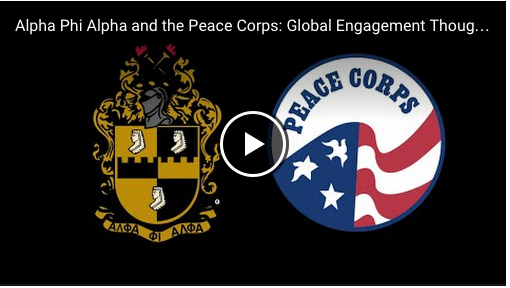 Alpha Phi Alpha and the Peace Corps: Global Engagement Though Acts of Service