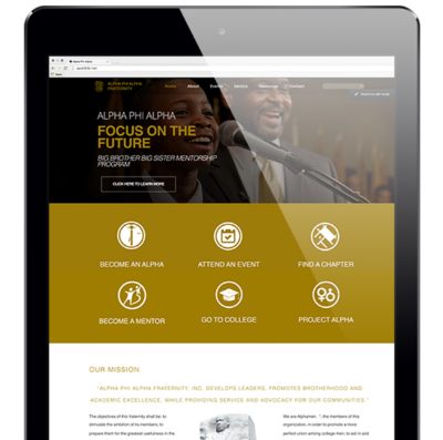Alpha Phi Alpha Programs and Mission