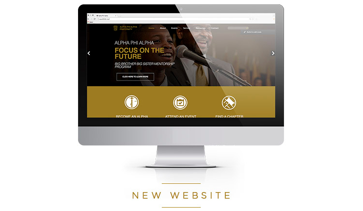 Alpha Phi Alpha New Website