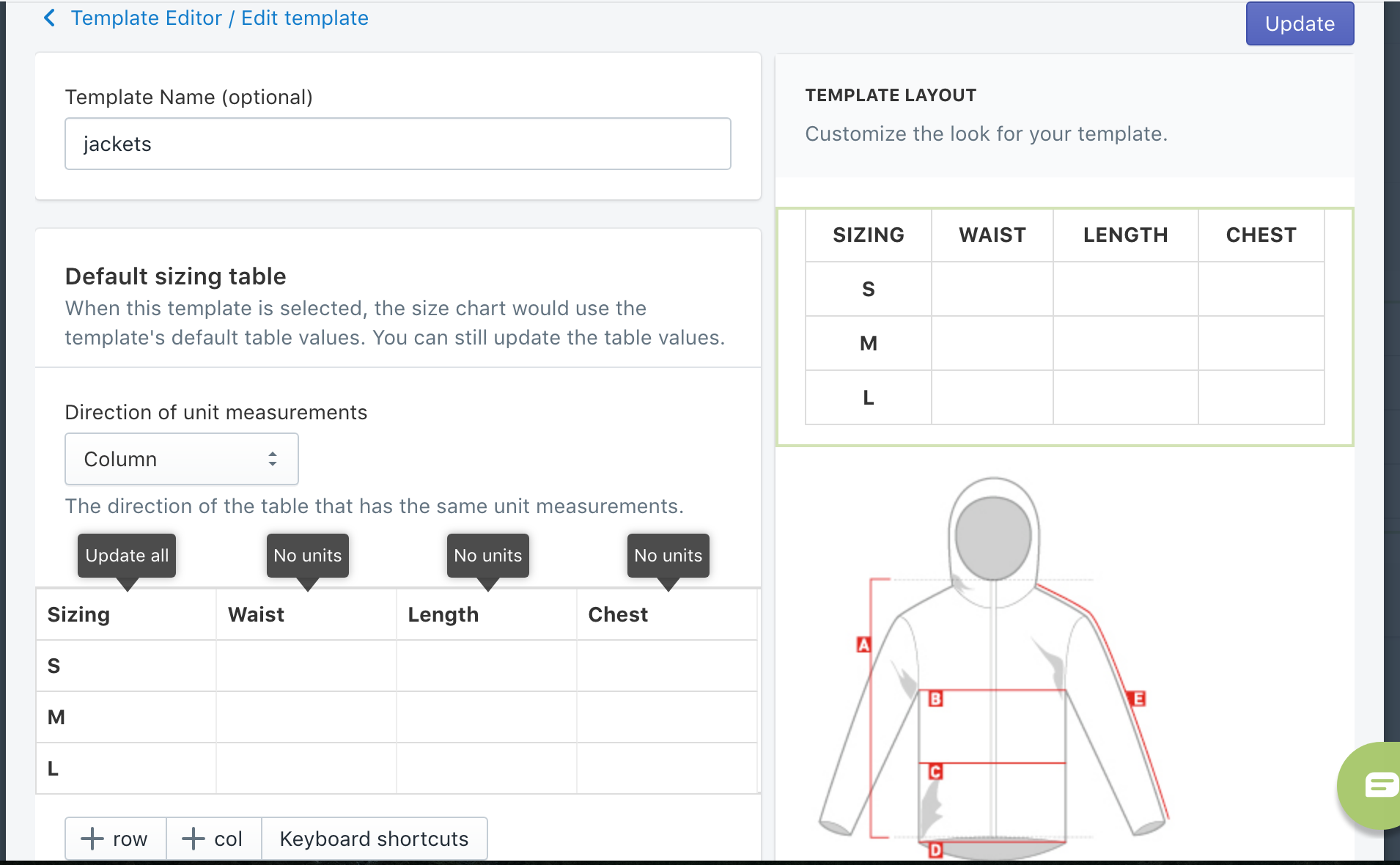 Kiwi Sizing - Sizing plugin for Shopify and e-commerce platforms