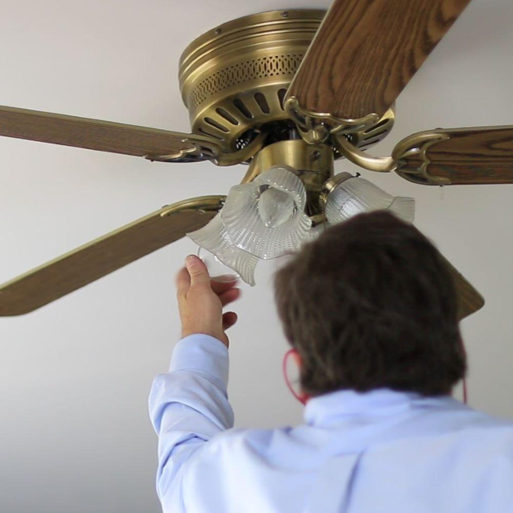 Energy specialist upgrading lighting