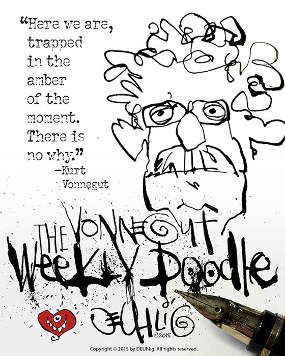 Vonnegut Weekly Doodle