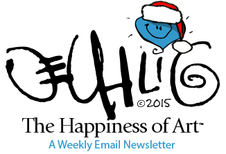 The Happiness of Art Masthead