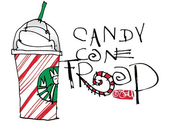 CandyCaneFrap Illustration