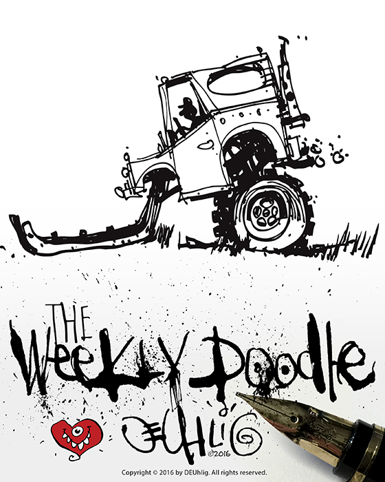 Weekly Doodle Illustration