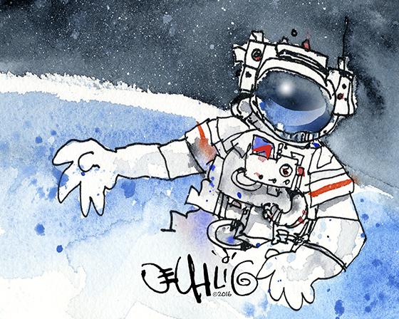 Illustration copyright 2016 by D.E.Uhlig
