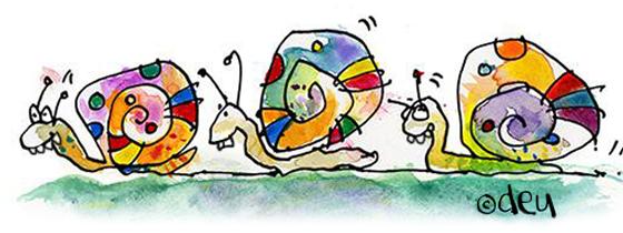 Snail illustration copyright D.E.Uhlig