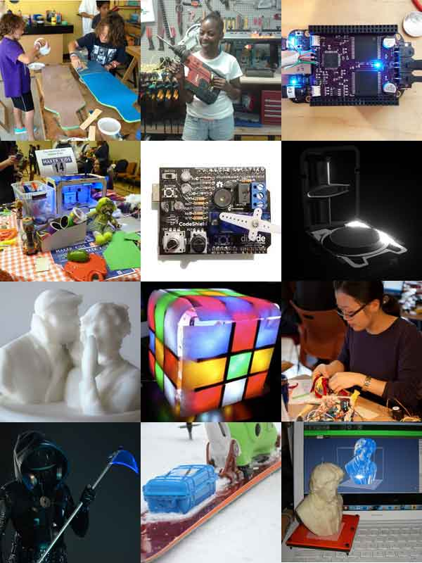 2013 Makers: 3D Printing, Magic Cubes, Arduino powered skis, MakerKids