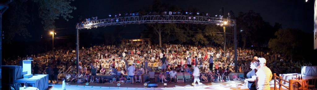 Crowd at The Zilker Summer Musical