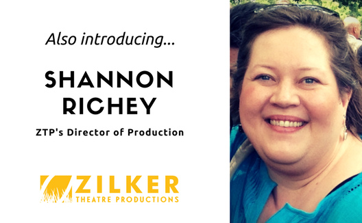 Also introducing..Shannon Richey as ZTP's Director of Production