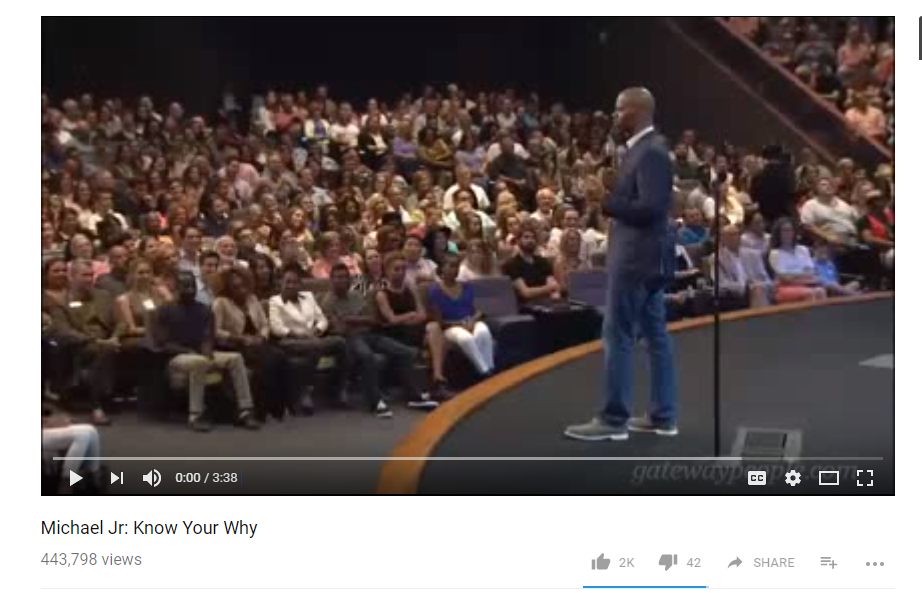 JOY! Listen to Comedian Michael Jr - Know Your Why
