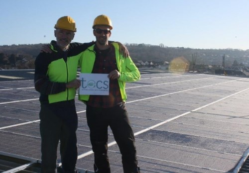 Rooftop Solar PV at Teign School