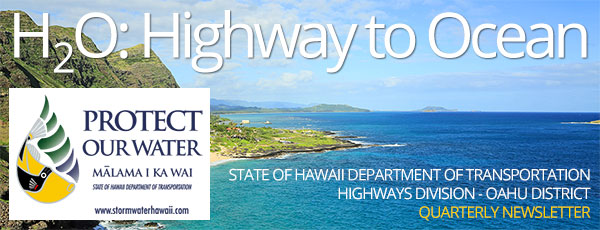 Hawaii Department of Transportation, Highways Division, Oahu District - Storm Water Management Program