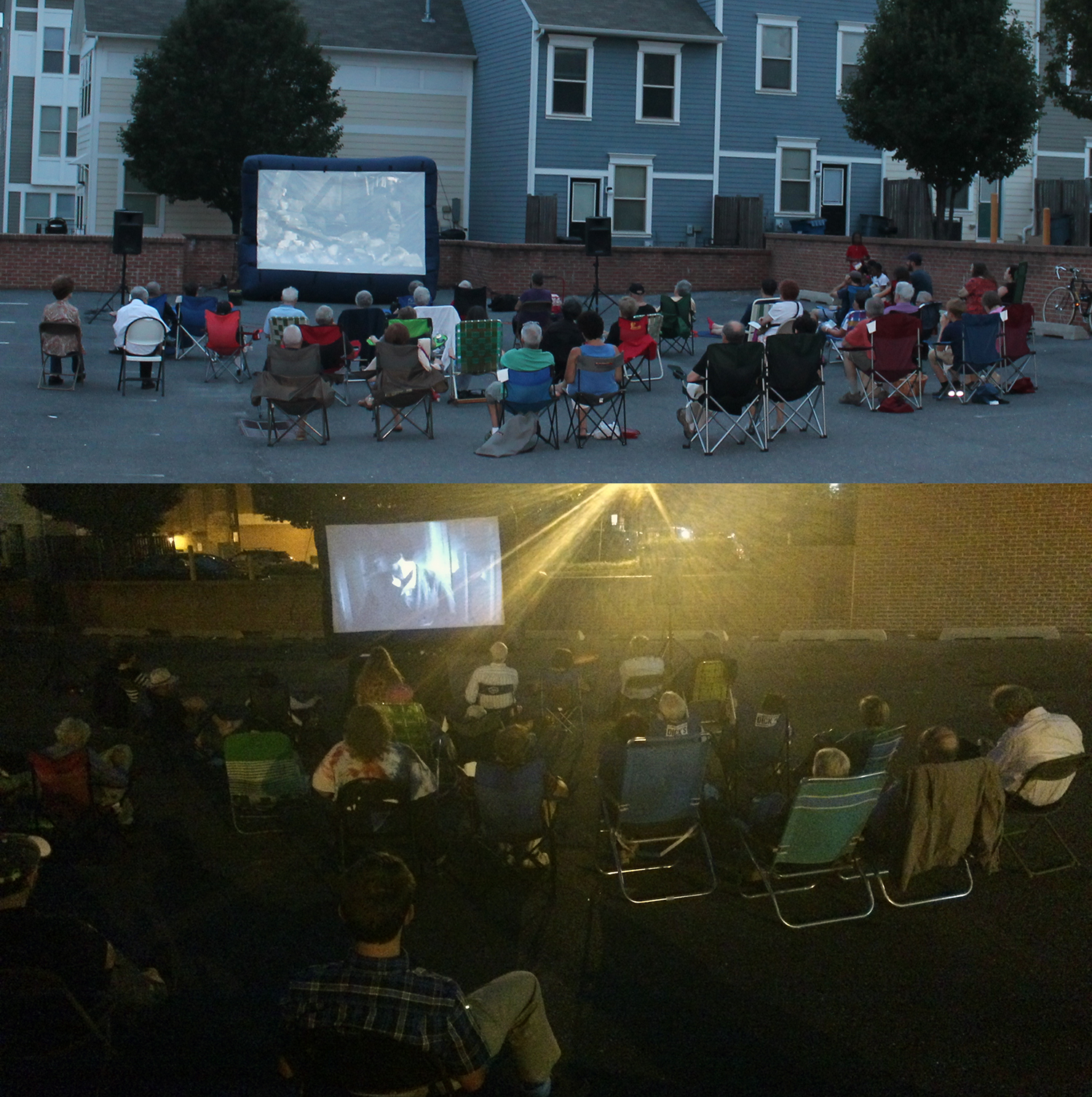Outdoor film screenings of The Great Dictator and Gentleman's Agreement