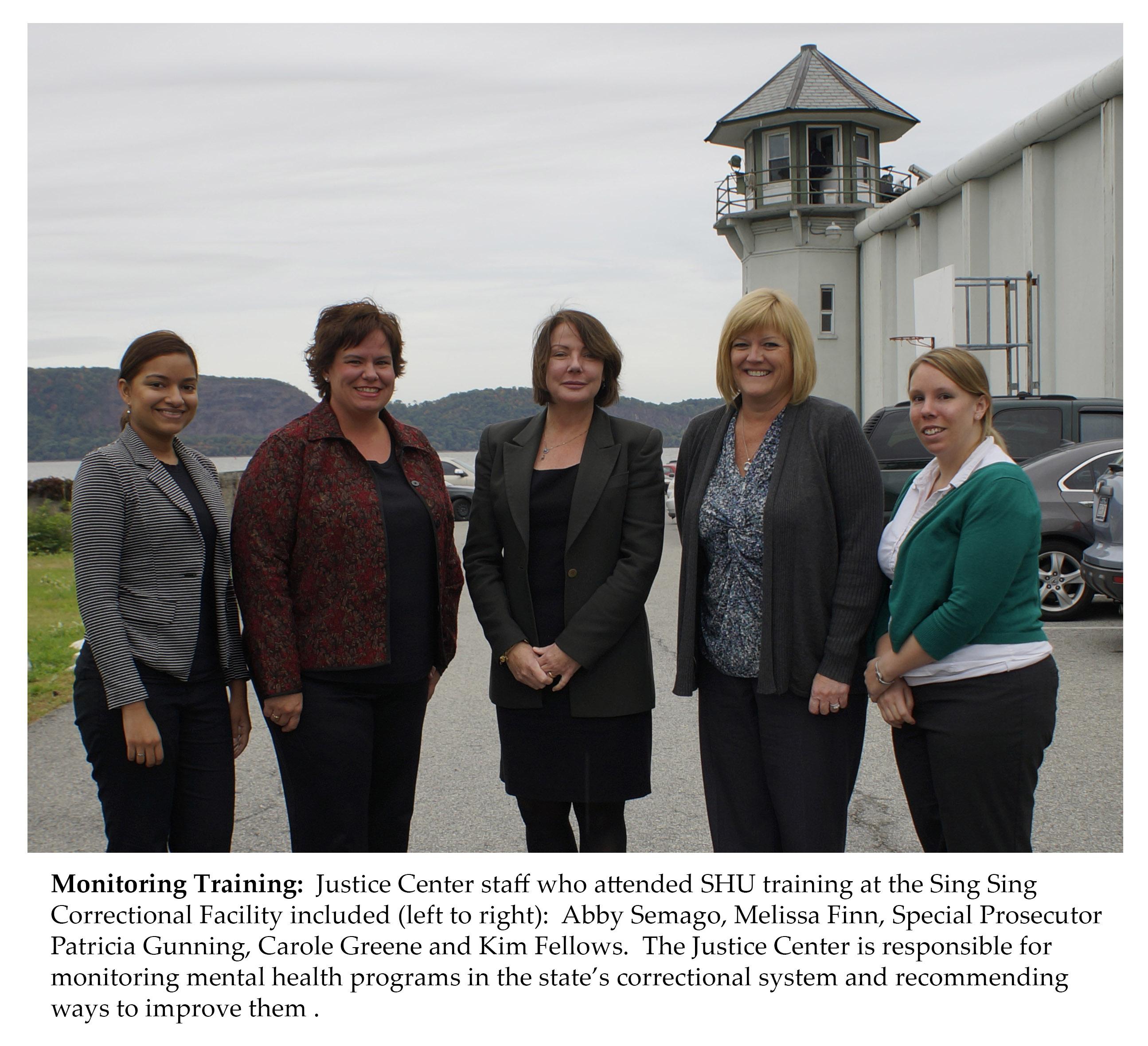 Justice Center SHU Monitoring Team