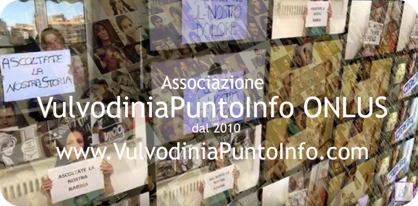 SANIT 2015 Associazione VULVODINIA.INFO ONLUS c'è. E tu? 4f088f71-004b-4204-8c40-89d77050e918